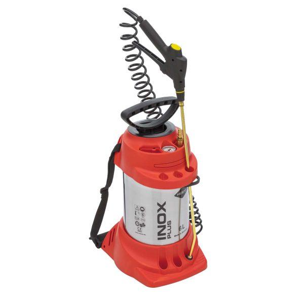 Hogedruksproeier INOX PLUS, 6 L