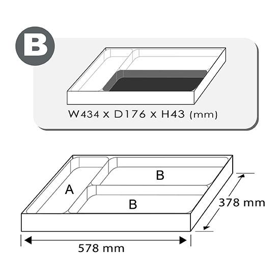 11PCS - Set voor meten, markeren en snijden