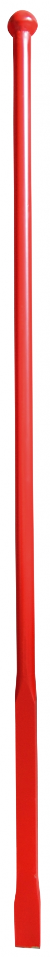 Breekstang rond Ø 28 mm - Vierkantig + beitel - 1400/400 mm