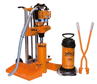 Proefkernboormachine voor boorbereik van 25 - 200 mm