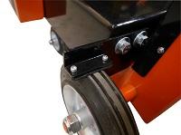 Vloerzaagmachine met een zaagdiepte tot 165 mm