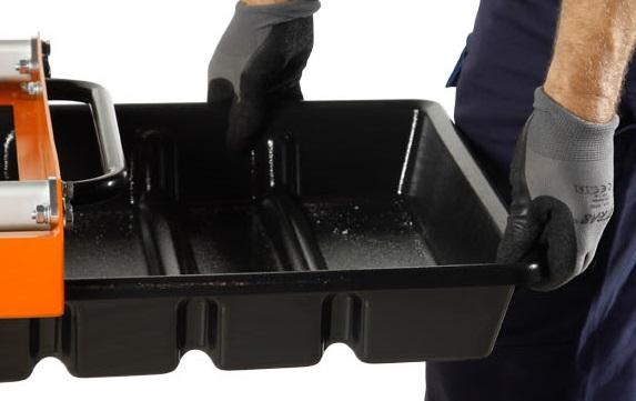 Steenzaagmachine met zaagdiepte tot 110 mm - zaaglengte tot 560 mm