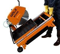 Steenzaagmachine met zaagdiepte tot 137 mm