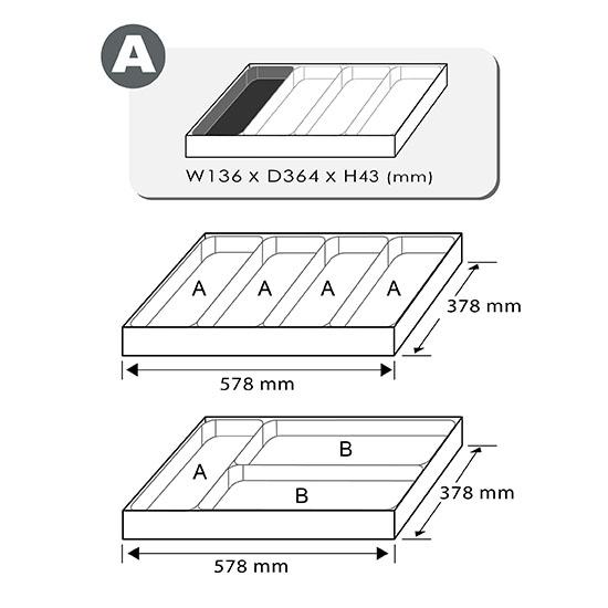 6PCS - Go-Thru sleuf- en kruiskopschroevendraaierset (zeshoekige stalen en zeshoekige driver)
