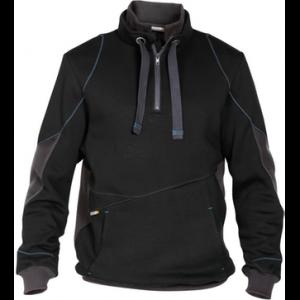 Sweater ds indy hooded zwart