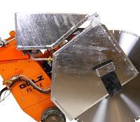 Elektrische vloerzaagmachine met zaagdiepte tot 400 mm