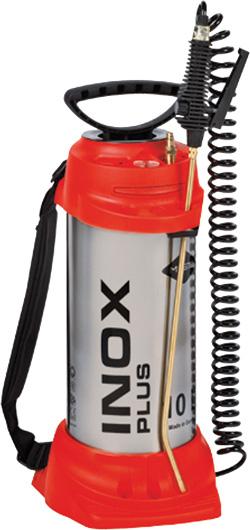Hogedruksproeier INOX PLUS, 10 L