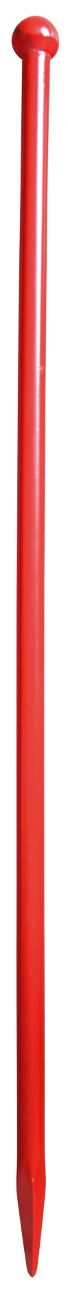 Breekstang rond Ø 28 mm - Bol/punt - 1200 mm