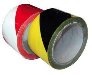 ZELFKLEVENDE PVC WAARSCHUWINGSTAPE 50MM X 30M