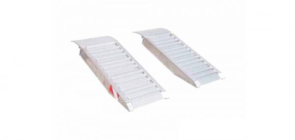Aluminium containerramp