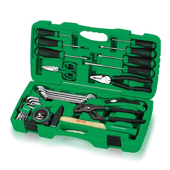 30PCS professionele gereedschapsset voor thuisreparaties en onderhoud