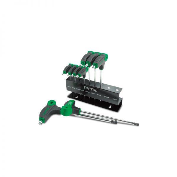 9 STKS L-Type Two Way Star & Tamperproof Key Wrench Set