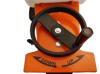 Vloerzaagmachine met een zaagdiepte tot 120 mm
