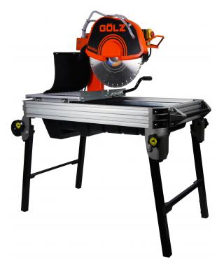 Steenzaagmachine met zaagdiepte tot 150 mm
