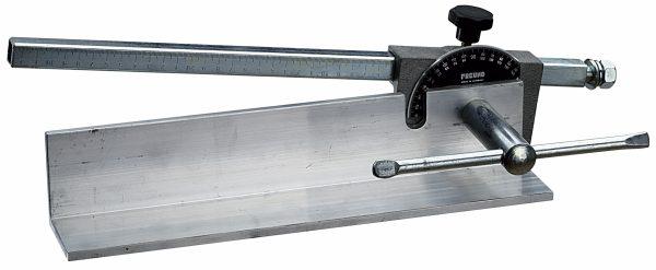 Winkelaanslag leienhefboomschaar FREUND 45° -320 mm