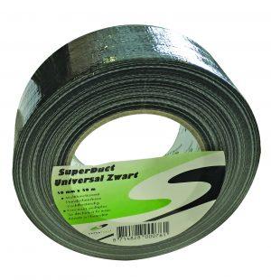 Tape SUPER DUCT zwart - 50 mm x 50 m